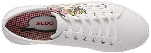 Cadian Para 70 Aldo Mujer Weiß white Zapatillas U1Hfwqdf