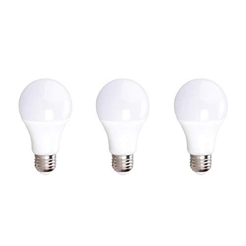 Xtricity A19 12V LED Light Bulb, 10W (60W Equivalent), E26 Medium Base, 3000K Soft White, 800 Lumens, RV Lighting, Boat Lighting, Low Voltage Lighting, UL Listed, FCC and RoHS Compliant, (Pack of 3)