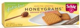 Schar Cookie Honeygrams, 5.6-ounce 6pack by Schar