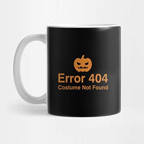 Error 404 Costume Not Found Mug- Ceramic