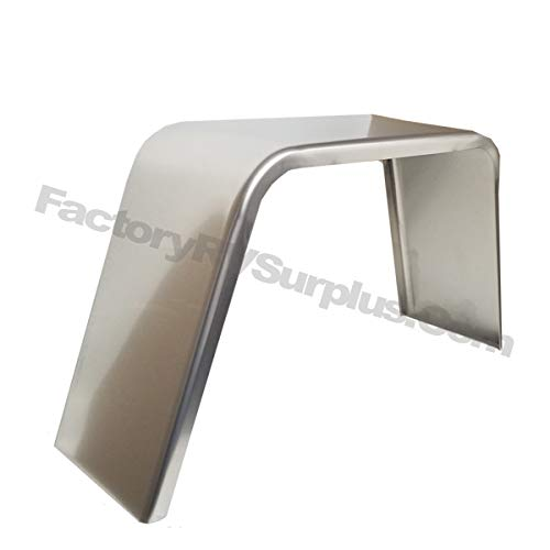 Pack Aluminum Smooth Flat Top Trailer Fender 9 X 36 X 18 ToughGrade 2