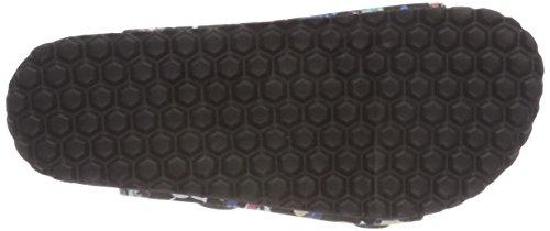 Supersoft 474 151, Zapatillas de estar Por Casa Para Niños Mehrfarbig (Black Multi)