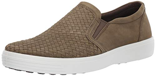 - ECCO Men's Soft 7 Slip On Sneaker Grape Leaf Plaited 43 M EU (9-9.5 US)