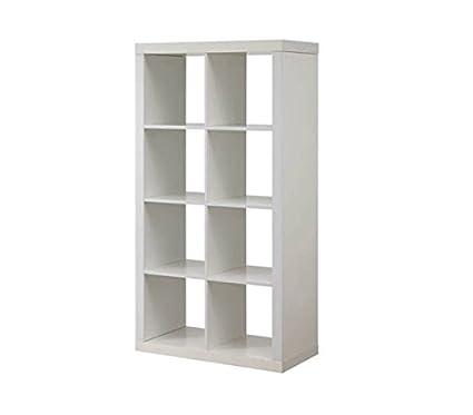 Better Homes And Gardens Furniture 8 Cube Room Organizer Storage  Divider/Bookcase (White