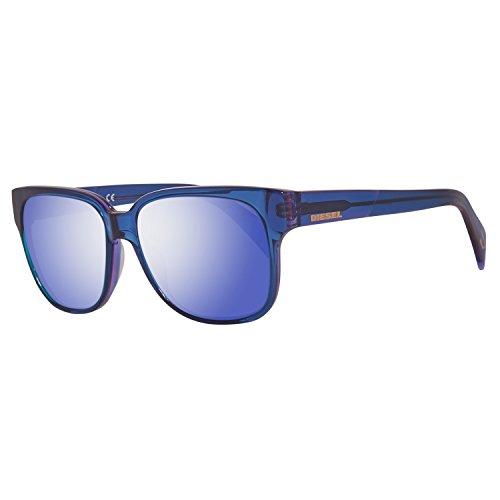 Diesel Unisex DL0074 Acetate Purple Sunglasses 55 (Fives Sonnenbrille)