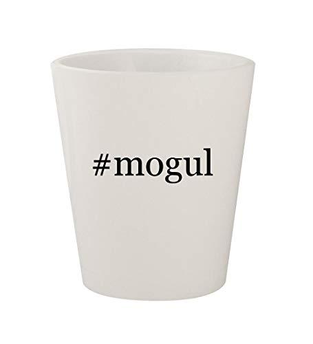 #mogul - Ceramic White Hashtag 1.5oz Shot Glass