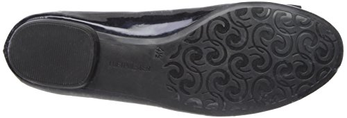 Flat Pride ara Midnight Black Ballet Women's fqxxzt