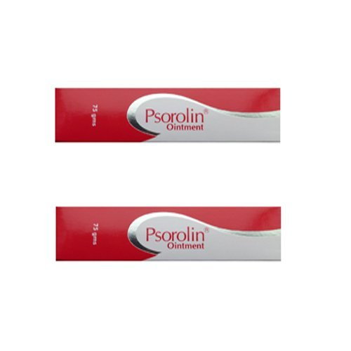 2 x Psorolin Ointment-psoriasis/fissurefoot/fungal --