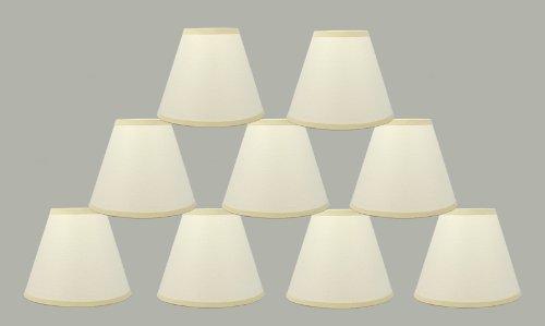 Urbanest 1101025d Set Of 9 Eggshell Craft Paper Chandelier Lamp