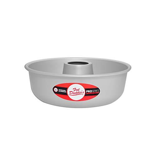 Fat Daddio's RMP-7 Ring Mold Pan, 7 x 2 3/8 Inch, Silver