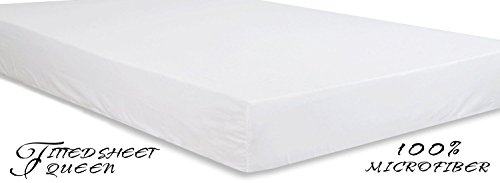 best queen fitted sheet only for sale 2016 save expert. Black Bedroom Furniture Sets. Home Design Ideas