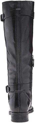 Meldi Mujer Geox Botas de Donna Black C9999 Montar Stivali para Negro O6wwqa50S