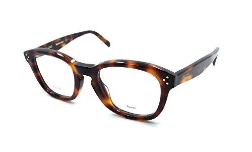 5ced837efd Celine Rx Eyeglasses Frames CL 41387 F 05L 50-22-145 Havana Italy