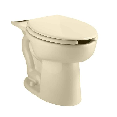 American Standard 3483.001.021 Cadet Right Height Elongated Pressure Assisted Two Piece Toilet, Bone by American Standard