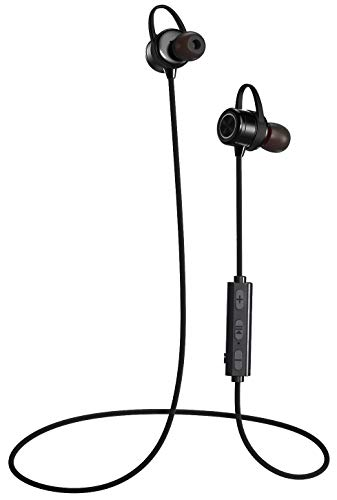 Arlig Bluetooth Wireless Headphones with Mic - Waterproof and Sweat-Proof Earbuds - Magnetic in-Ear Headset with Noise Cancelling Microphone - 9 hr Battery Life - Quick Charging - Freedom Sport Pro X1