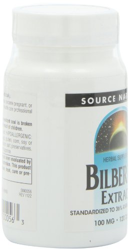 Source Naturals Bilberry Extract 100mg, Standardized Botanical Antioxidant, 120 Tablets by Source Naturals (Image #7)