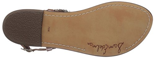 Sam Edelman Georgie - Sandalias de vestir de cuero para mujer marrón - Braun (SOFT SADDLE SOUVAGE LEAT)
