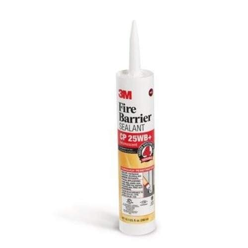 SEALANT CAULK 3M FIRE BARRIER CP-25WB 10.1 OZ TUBE