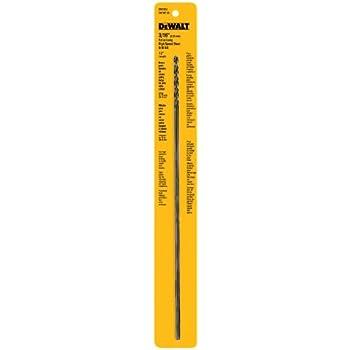 DEWALT DW1604 3/16-Inch by 12-Inch Extra Long Black Oxide Drill  sc 1 st  Amazon.com : long drill bit for wiring - yogabreezes.com