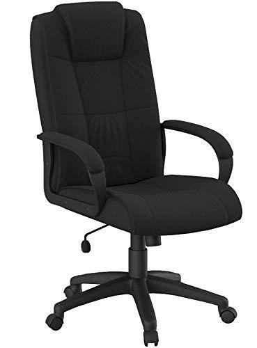 Flash Furniture GO-5301B-BK-GG High Back Black Fabric Execut