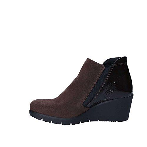 Boots Talons Femmes Keys 7093 Brun À Uwn6z