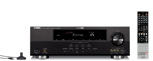 Yamaha RX-V565BL 630 Watt 7-Channel Home Theater Receiver (OLD VERSION) (Discontinued by Manufacturer)