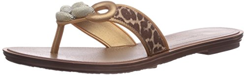 Grendha Exotic Thong, Tongs Pour Femme Beige - (beige 90078)