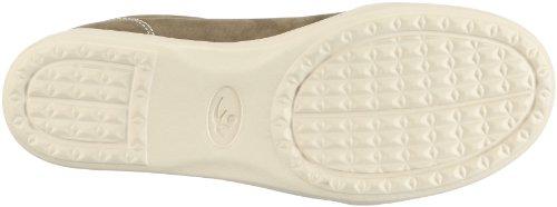 Chung Shi Duflex City Lisa 8500500 - Zapatillas clásicas de cuero para mujer Verde