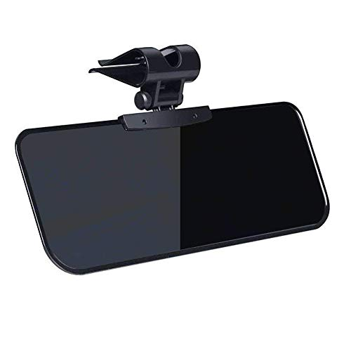 Monopril Car Visor Anti Dazzle Shading Mirror Auto Anti-Glare Clip-on Car Sun Visor Shield Sunshades Suitable for Ford-Series/Benz/BMW and all cars.