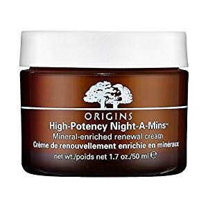 Origins High Potency Night-A-Mins Mineral Enriched Renewal Night Cream 1.7 Ounce Unbox