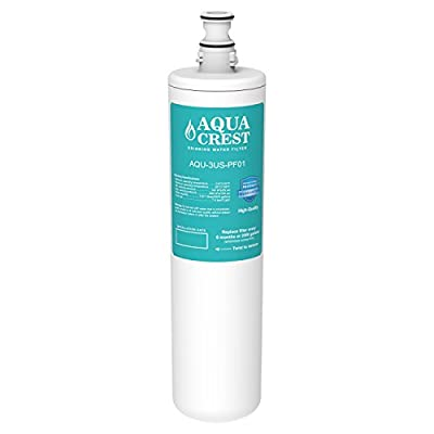 AQUACREST 3US-PF01 Replacement for Filtrete Advanced 3US-PF01 (Not 3M 3US-AF01), 3US-MAX-F01H, 3US-PF01H, Delta RP78702, Manitowoc K-00337, K-00338 Water Filter