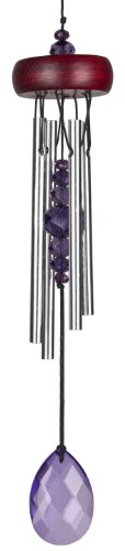 Woodstock Violet Gem Drop Chime- Décor Designs Collection Drop Chimes