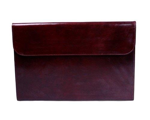 SAGEBROWN Brown Bridle Envelope Folder by Sage Brown (Image #1)
