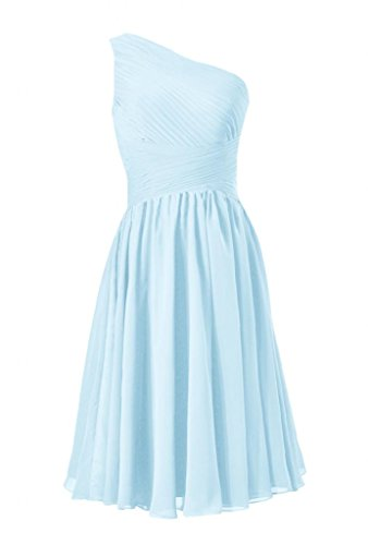 ice blue bridesmaids dresses - 8