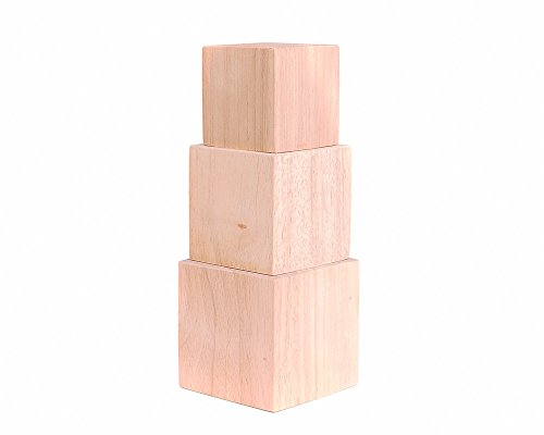 Multiple Sizes Solid Blocks Cubes product image