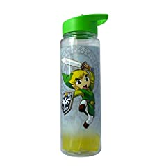 Drinking water is very healthy and vital, especially for kids. Sometimes your kids can be busy playing or studying and forget to drink sufficient portions of water. Zelda Green Water Bottle will make your kids actually enjoy drinking water. A...