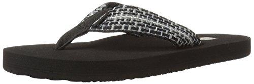 Mens Flip Flop Sandals (Teva Men's Mush II Flip Flop,Tartan Black,11 M)