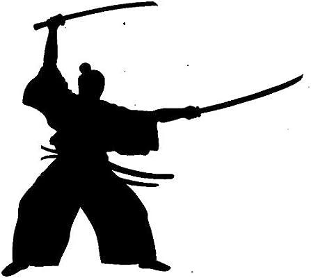 Amazon com: Double Katana Samurai - Sword Bushido  Transfer