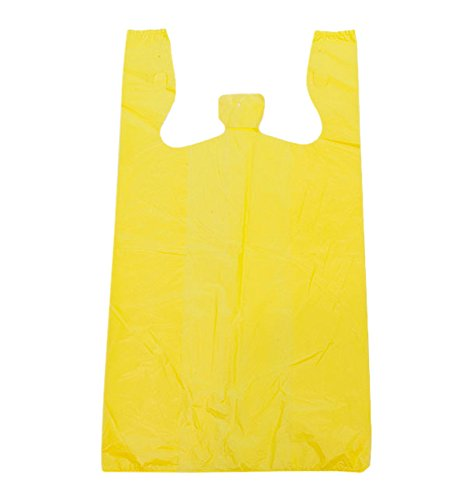 KC Store Fixtures 06140 Plastic T-Shirt Bag, High Density, 12