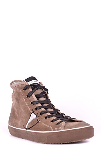 Philippe Model Hi Top Sneakers Uomo MCBI238023O Camoscio Marrone