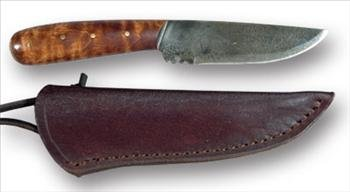 Roach Belly Neck Knife with Sheath Review