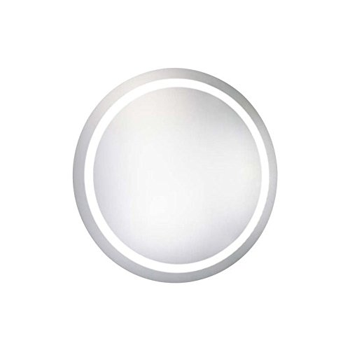 Elegant Decor Mre-6006 Dimmable 5000K LED Electric Mirror Round, 36'' Depth by Elegant Decor