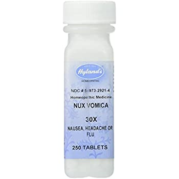 Hyland's Homeopathic Hyland's Nux Vomica 30X - 250 Tablets