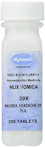 Vomica Nux (Hyland's Homeopathic Hyland's Nux Vomica 30X - 250 Tablets)