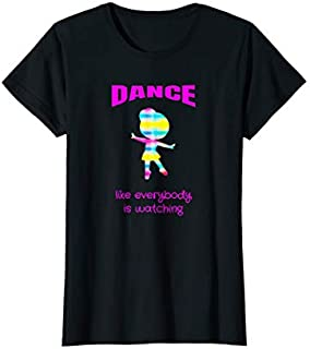 Cool Gift Dance Recital Dance Like Everybody is Watching Tshirt Women Long Sleeve Funny Shirt / Navy / S - 5XL