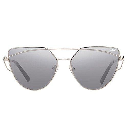 Nectar Unisex Villas Polarized Sunglasses Gray