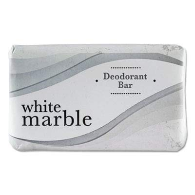 White Marble quot;Individually Wrapped Deodorant Bar Soap, White, 2.5oz Bar, 200/Cartonquot; Unit of measure: CT, Manufacturer Part Number: DIA 00197