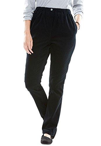 Plus Size Corduroy Pants - 7