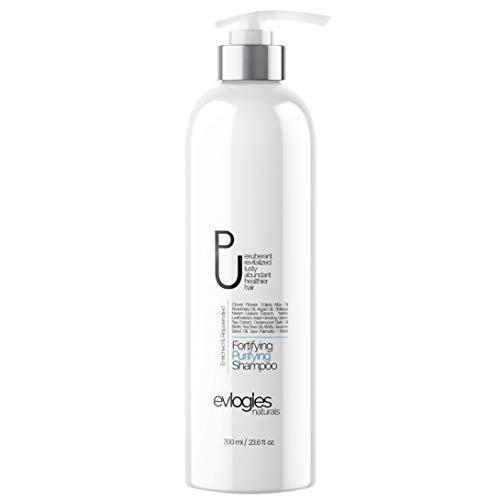 Hair Growth & Clarifying Detox Shampoo - Biotin, Tea Tree Oil, Ginseng, Arginine, Argan Oil, Aloe Vera and Vitamins Surge Complex For Thinning Hair & Hair Loss | Natural Regrowth Treatment - 23.6oz