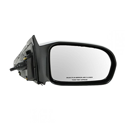 (Manual Remote Side Door Mirror Right RH Passenger for 01-05 Honda Civic)